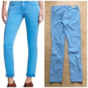 AG Adriano Goldschmied Stevie Ankle Slim Jeans
